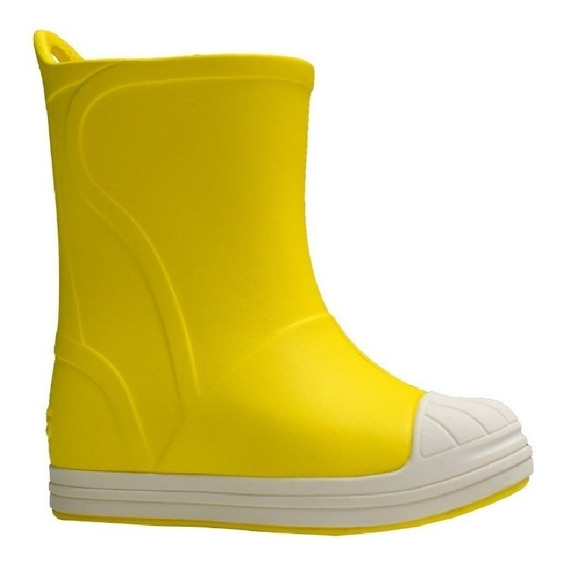 Bota De Lluvia Crocs Bump It Boot C203515 C73k Amarillo