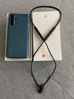Celular Huawei P30pro 256gb Cor Nova Mystic Blue Com Caixa .