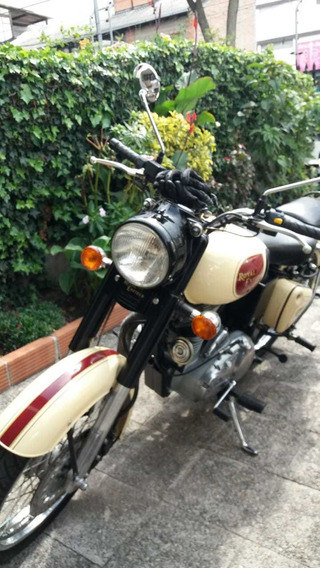 Hermosa Moto Royal Enfield De Fabricación Inglesa