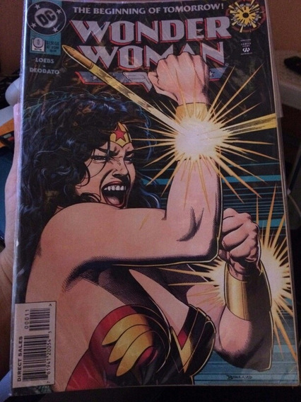 Wonder Woman Zero Mike Deodato Importada
