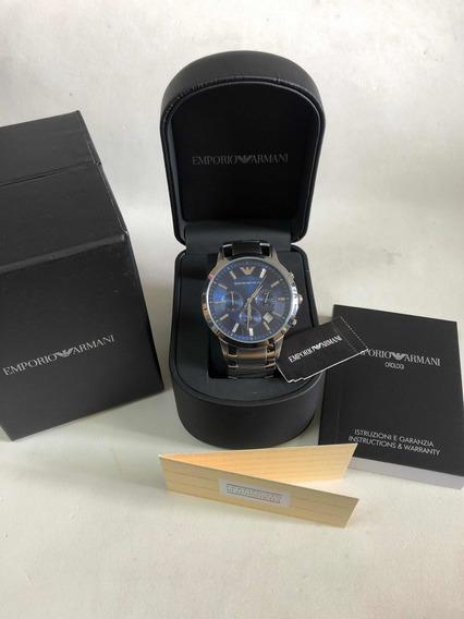 Relógio Emporio Armani Ar2448 Com Caixa E Garantia