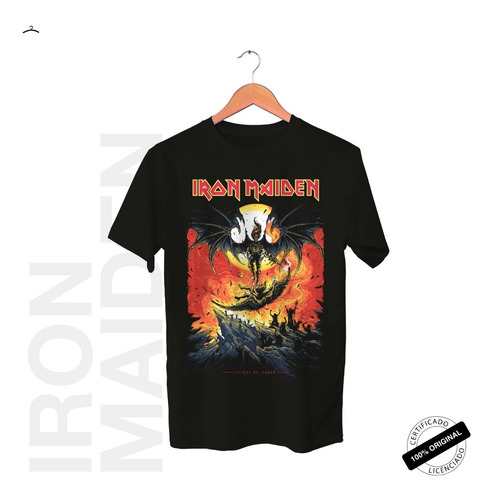 Camiseta Oficial Iron Maiden Revelations Tour 2019