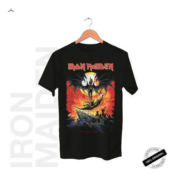 Camiseta Oficial Iron Maiden Revelations Tour 2019