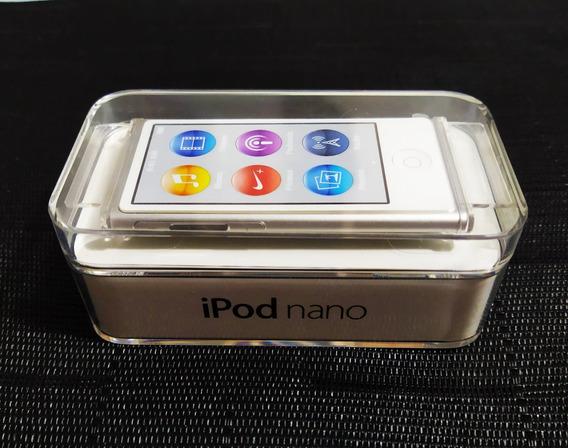 iPod Nano 7 Prata/branco 16gb Apple Completo Na Caixa.