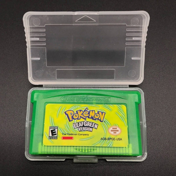 Pokemon Leafgreen Inglês Game Boy Advance Gba Nds Lite Repro