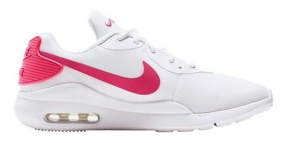 Tenis Nike Air Max Oketo Blanco Aq2231-103 Look Trendy