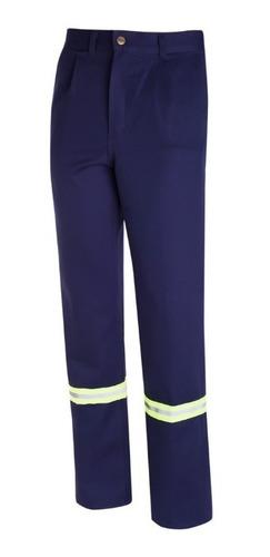 Pantalón De Trabajo Ombu Con Reflectivos Cocido