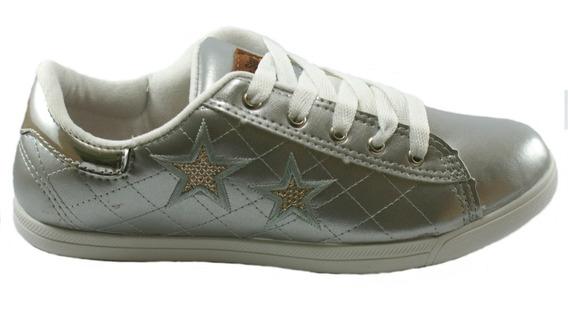 Tenis Feminino Casual Sapatenis Street Five Star Ref022(35)