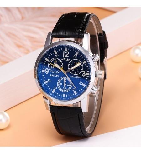 Promoção Relógio Couro Barato Original Luxo Presente Social