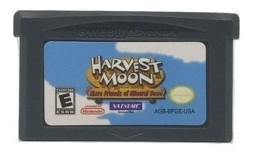 Harvest Moon More Friends Of Mineral Town Game Boy Advance