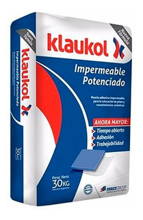Klaukol Adhesivo Impermeable Potenciado X 30 Kgs.