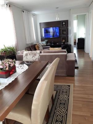 Apartamento Semi Mobiliado Com Churrasqueira Na Varanda À Venda, 68 M² - Vila Endres - Guarulhos/sp - Ap6088