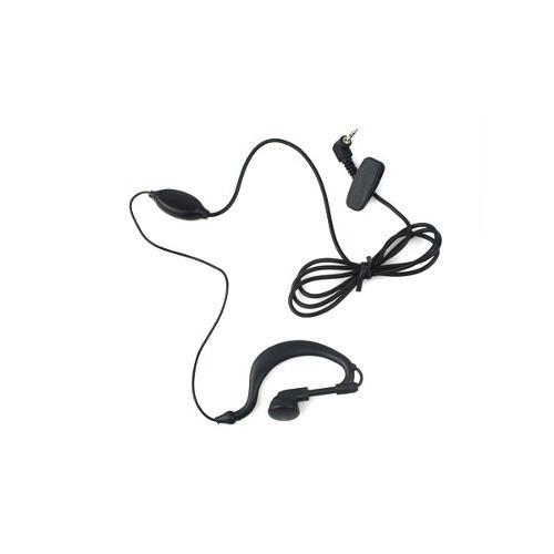 Fone C/ Microfone De Lapela P/ Radios Ht 1 Pino 2,5mm