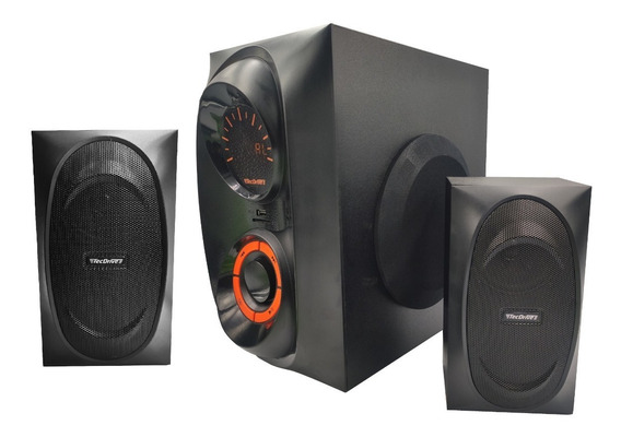 Subwoofer Home Theater Tecdrive Bluetooth Fm Usb 100w Rms
