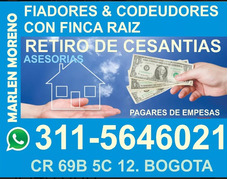 Fiadores En Bogota Arriendos Directo Retiro De Cesantias