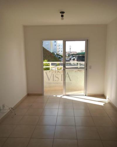 Apartamento  No Condomínio Colinas Da Mantiqueira, Com Dois Dormitórios, Banheiro Social , Sala Com Varanda Integrada , Balcão Em Granit0 Com Gabinete - Ap00040 - 68894313