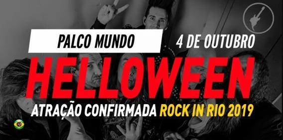 Helloween - Dvd Rock In Rio 2019 - Hd Original + Cd Brinde