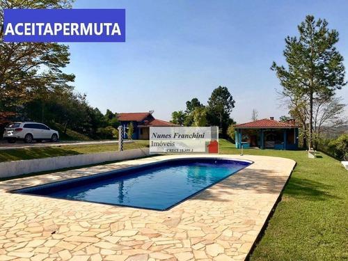 Chácara À Venda, 7400 M² Por R$ 680.000,00 - Caioçara - Jarinu/sp - Ch0017