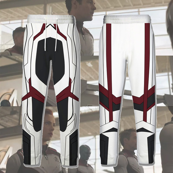 2019 Avengers 4: Endgame Quantum Traje Pantalones Superhéro