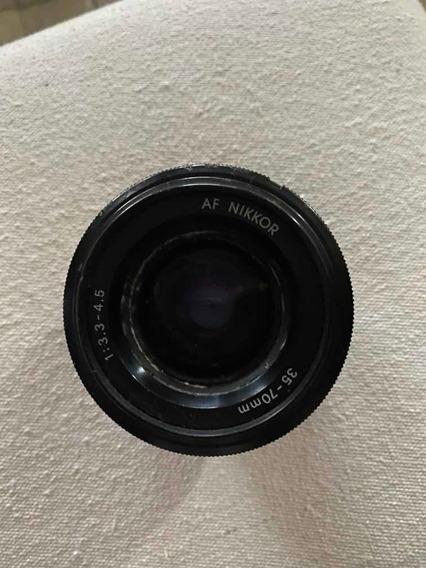 Objetiva Af Nikkor 1:3.3-4.5 35-70mm