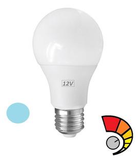 Lampara Led 12v Cc (9w) E27 Rosca Comun, Para Baterias, Pantallas Solares