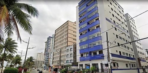 Imagem 1 de 14 de Apartamento 2 Dormitórios Guilhermina Prédio Frente Mar