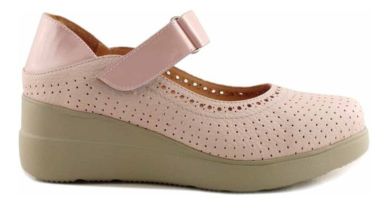 Zapato Vestir Mujer Briganti Cuero Plataforma - Mczp05235 Vh