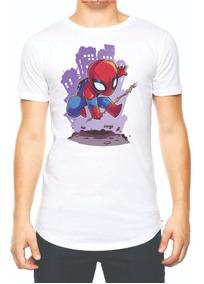 Playera Camiseta Chibi Spiderman Avengers Endgame Marvel