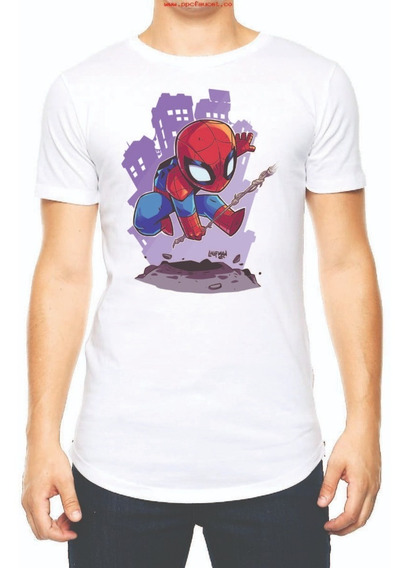 Playera Camiseta Chibi Spiderman Avengers Endgame Marvel