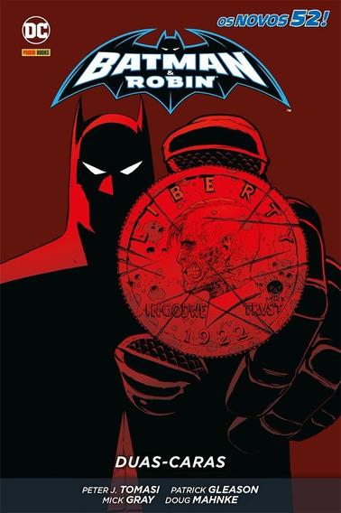 Hq - Batman E Robin. Duas-caras - Capa Dura Os Novos 52