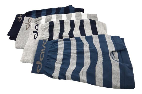 Bóxer Davor Underwear Pack X4 - Super Oferta Envio Incluido!