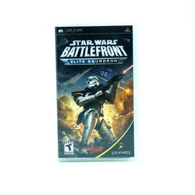 Star Wars Battlefront Elite Squadron - Psp - Original