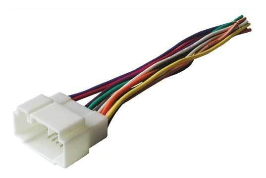 Plug Adaptador Conector Rabicho De Som Honda Fit E Civic