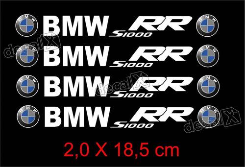 Adesivos Centro Roda Refletivo Moto Bmw S1000rr Rd11