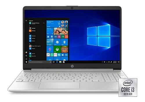 Notebook Hp I3 1005g1 8gb 128gb Ssd Windows 10 15.6 Pul 6cts