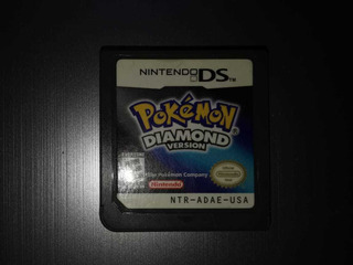 Pokémon Diamond Versión Nintendo Ds