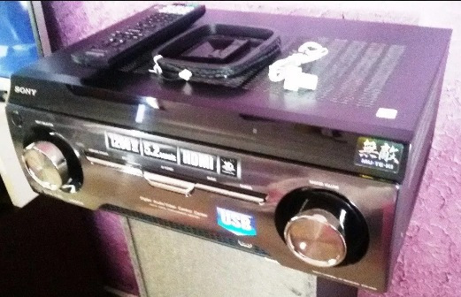 Receiver System 3d Sony 5.2 Muteki 1200w
