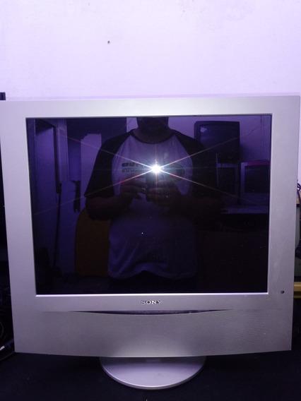 Tv Sony 21 Polegadas Japonesa Klv-21sr2 Com A Tela Queimada
