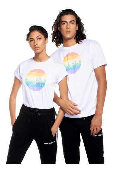 Playera Nasa Lgbt Orgullo Gay Unisex Moda Invierno