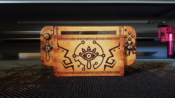 Skin Nintendo Switch Zelda Sheikah Sublimeskins
