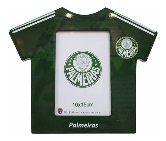 Porta Retrato Palmeiras De Madeira Oficial - Formato Camisa