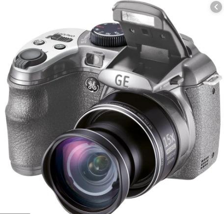 Câmera Semiprofissional Digital Gex550 + Carregador De Pilha