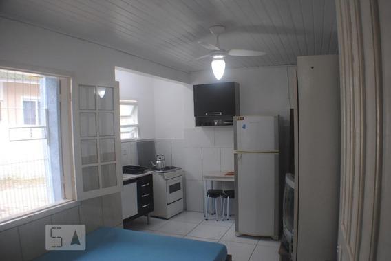 Studio No 1º Andar Com 1 Dormitório E 1 Garagem - Id: 892954480 - 254480