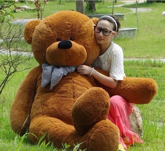 Urso Gigante De Pelucia Teddy Bear 2 Metros (pronta Entrega)