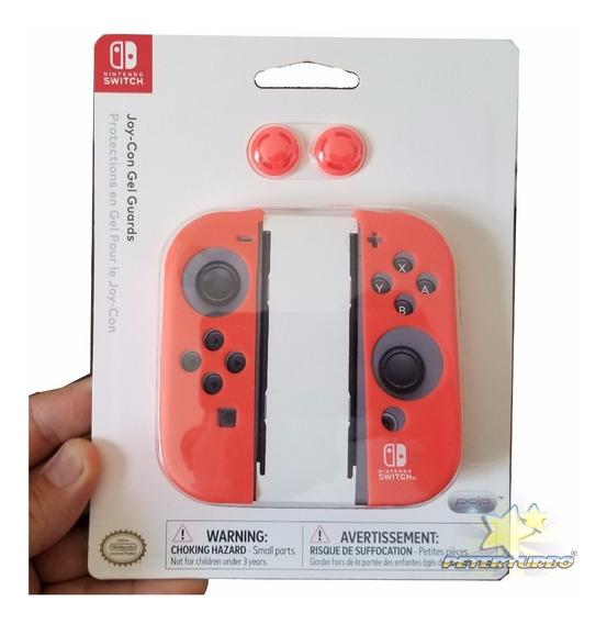 Case Original Controle Nintendo Switch Silicone Vermelho Pdp
