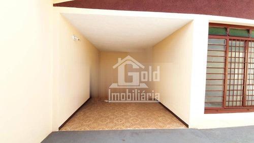 Imagem 1 de 8 de Casa Com 2 Dormitórios Para Alugar, 149 M² Por R$ 1.000,00/mês - Vila Abranches - Ribeirão Preto/sp - Ca1173