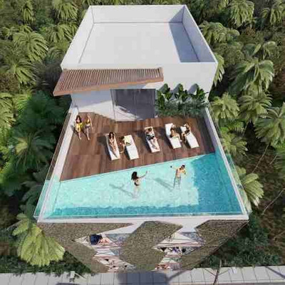Departamento Playa Carmen Elite By Dk Excelente Ubicación