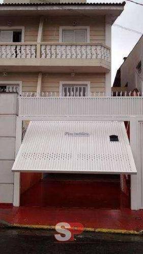 Sobrado Com 3 Dormitórios À Venda, 205 M² Por R$ 901.000 - Vila Albertina - São Paulo/sp - So0385