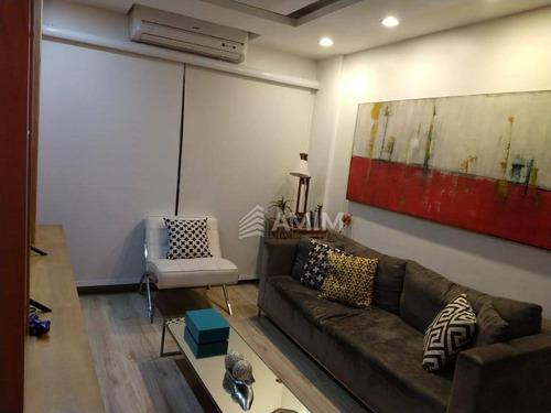 Cobertura Com 4 Dormitórios À Venda, 205 M²- Icaraí - Niterói/rj - Co0295