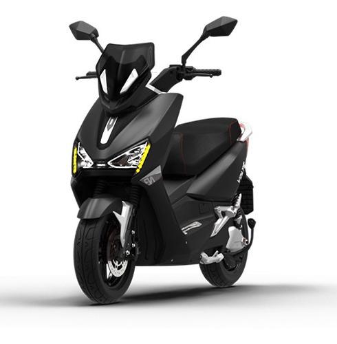 Imagem 1 de 8 de Scooter Moto Elétrica Voltz Ev1 Preta - Uma Bateria